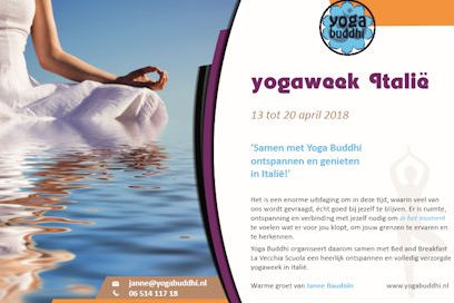 Schrijf je nu in voor de yogaweek Italië 2018