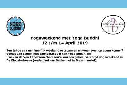Schrijf je nu in voor het Yogaweekend