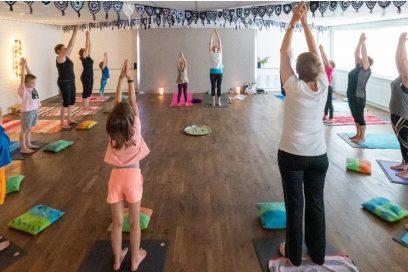 Workshop (groot)ouder-kind yoga